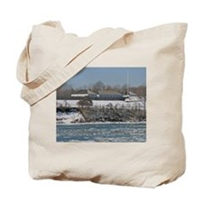 Fort George In The Winter Tote Bag