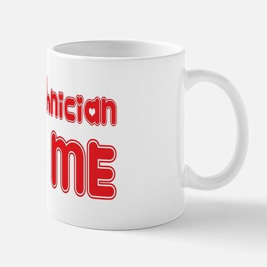 An X-Ray Technician Loves Me Mug