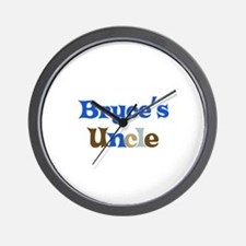 Bryce's Uncle  Wall Clock