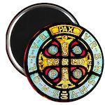 "Medal of St. Benedict. 2.25"" Magnet (100 pack)"