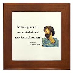 Aristotle 10 Framed Tile