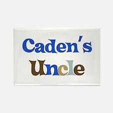 Caden's Uncle Rectangle Magnet