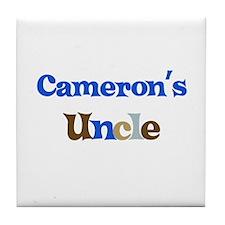 Cameron's Uncle  Tile Coaster