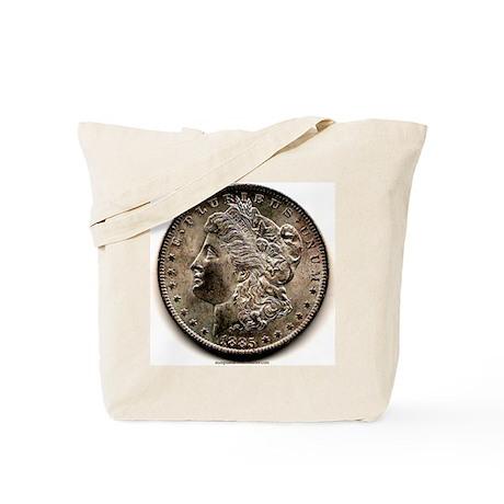 Morgan Dollar Tote Bag