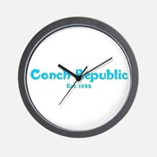 Conch Republic Wall Clock
