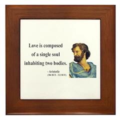 Aristotle 11 Framed Tile