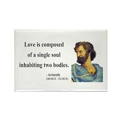 Aristotle 11 Rectangle Magnet