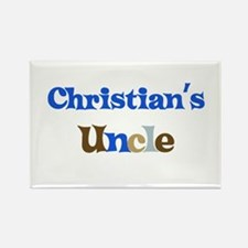 Christian's Uncle Rectangle Magnet
