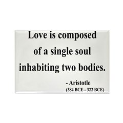Aristotle 11 Rectangle Magnet (100 pack)