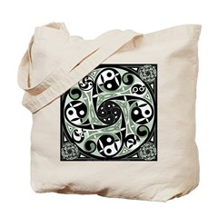 Celtic Stepping Stone Tote Bag