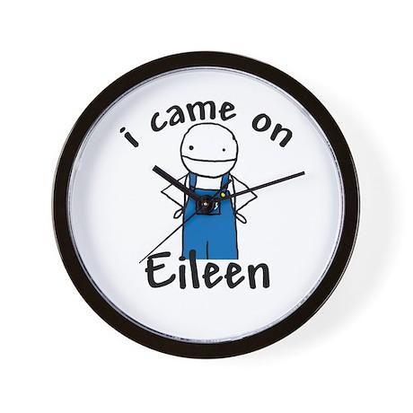 Eileen Wall Clock