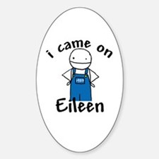 Eileen Oval Decal