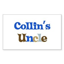 Collin's Uncle Rectangle Decal