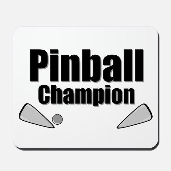Old School Pinball Arcade Gam Mousepad
