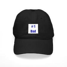 #1 Dad Baseball Hat