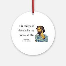 Aristotle 12 Ornament (Round)