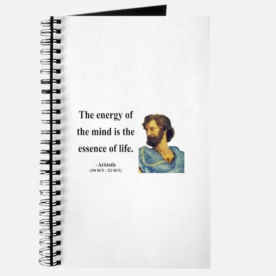 Aristotle 12 Journal