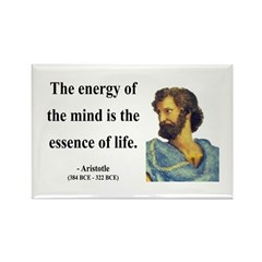Aristotle 12 Rectangle Magnet