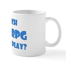 Blue MMORPG Question Mug