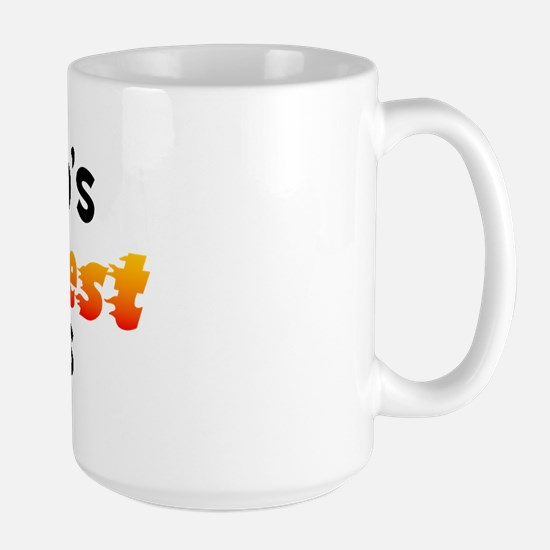 World's Hottest Boss (B) Large Mug