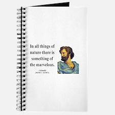 Aristotle 13 Journal