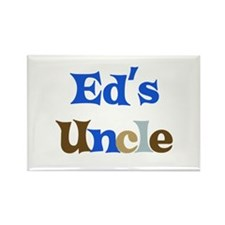 Ed's Uncle Rectangle Magnet