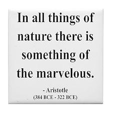 Aristotle 13 Tile Coaster