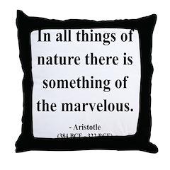 Aristotle 13 Throw Pillow