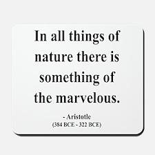 Aristotle 13 Mousepad
