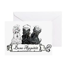 Scottish Terrier Chefs Greeting Card