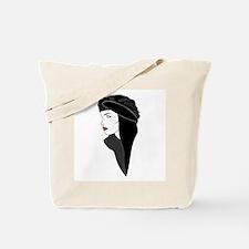 Veiled woman Tote Bag