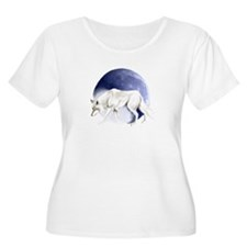 White Wolf and Half Moon T-Shirt