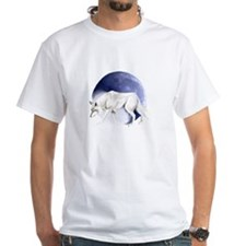 White Wolf and Half Moon Shirt
