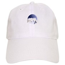 White Wolf and Half Moon Baseball Cap