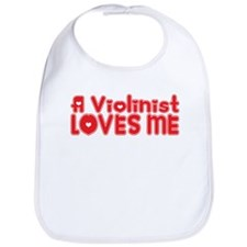 A Violinist Loves Me Bib