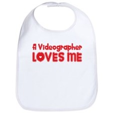 A Videographer Loves Me Bib