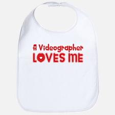 A Videographer Loves Me Bib