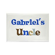 Gabriel's Uncle Rectangle Magnet