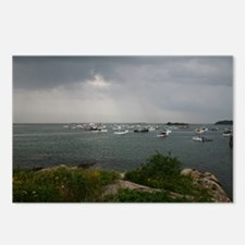 Cape Porpoise harbor Maine Postcards (Package of 8