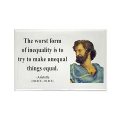 Aristotle 14 Rectangle Magnet