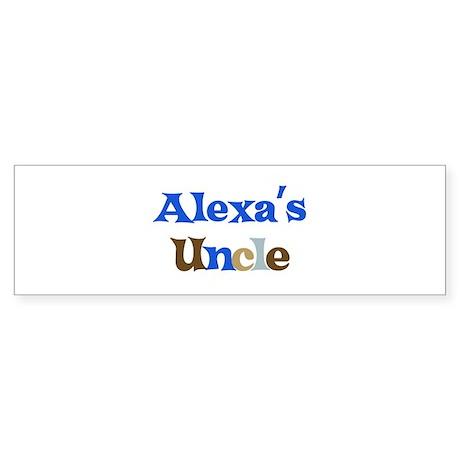 Alexa's Uncle Bumper Sticker
