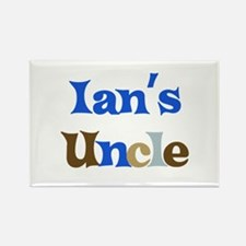 Ian's Uncle Rectangle Magnet