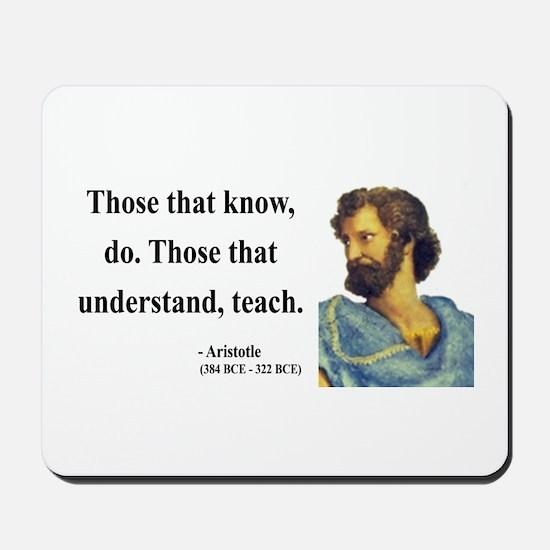 Aristotle 15 Mousepad
