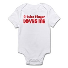 A Tuba Player Loves Me Infant Bodysuit