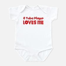 A Tuba Player Loves Me Infant Bodysuit