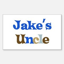 Jake's Uncle Rectangle Decal