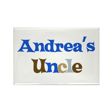 Andrea's Uncle Rectangle Magnet