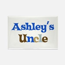Ashley's Uncle Rectangle Magnet