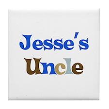 Jesse's Uncle  Tile Coaster