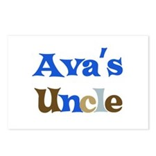 Ava's Uncle Postcards (Package of 8)